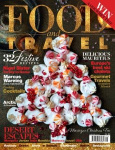 Food and Travel magazine Issue