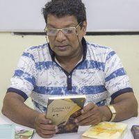 Chetaan Joshii Creative Writing Professor